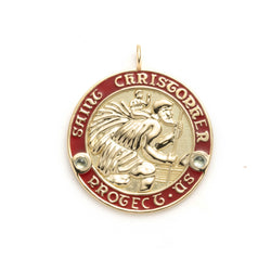 Saint Christopher Max Pendant