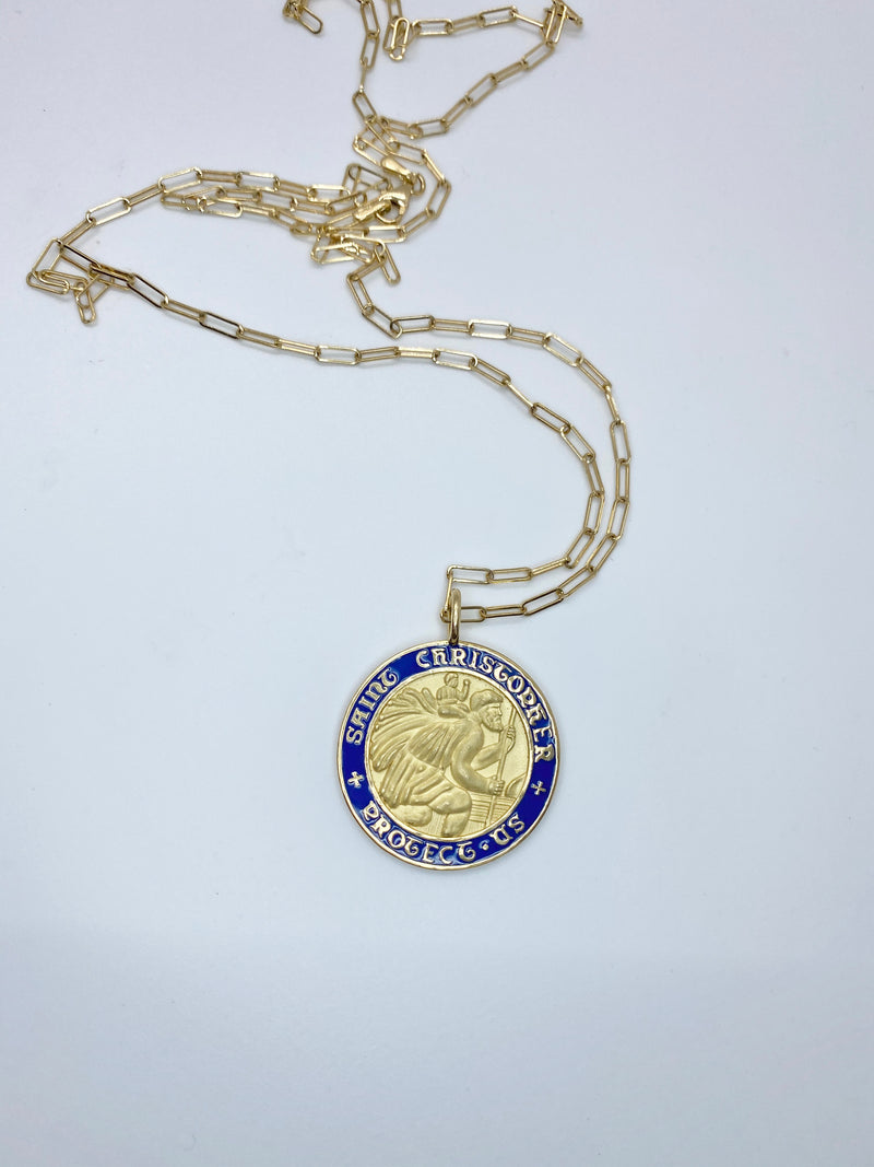 Saint Christopher Necklace