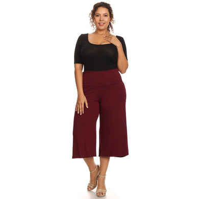Women's Gaucho Pants Knit