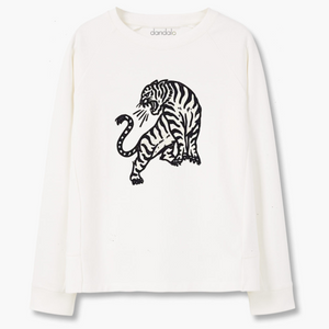 "Felpa Unisex ""Screaming Tiger"""