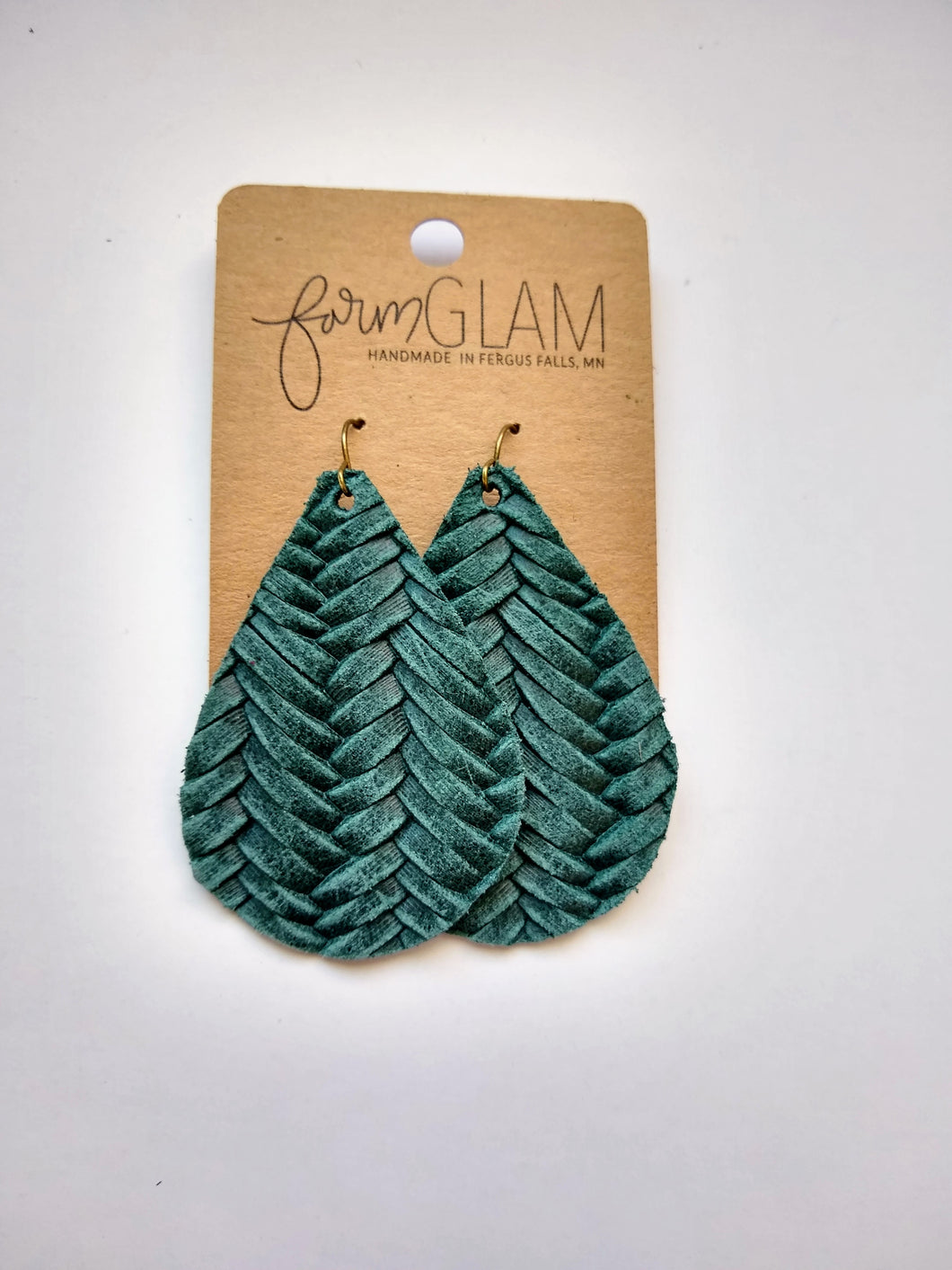 PINE BRAIDED LEATHER