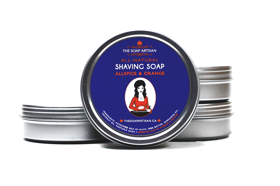 Shaving Soap Allspice & Orange