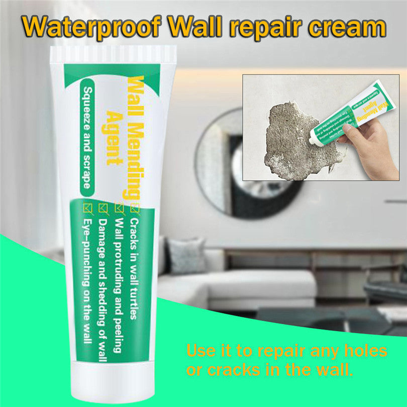 Wall Mending Agent | Wall Repair Cream | Quick-Drying Wall Patch Restore