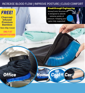 Orthosilica™ Spinal Alignment Comfort Cushion