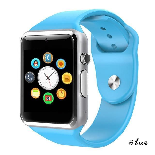 The Stylopedia Accessories Blue Bluetooth Smart Watch