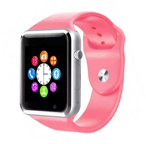 The Stylopedia Accessories Pink Bluetooth Smart Watch
