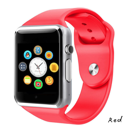 The Stylopedia Accessories Red Bluetooth Smart Watch