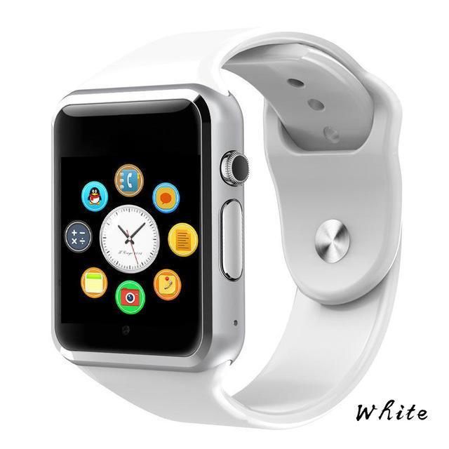 The Stylopedia Accessories White Bluetooth Smart Watch
