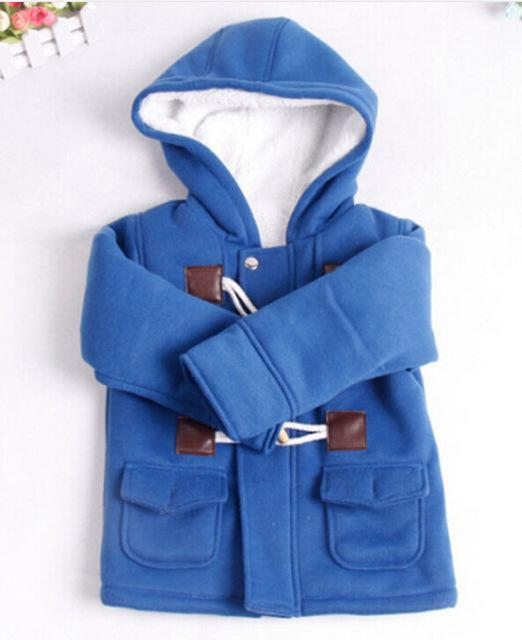 The Stylopedia Baby Clothing Blue / 12M Baby Classic Coat