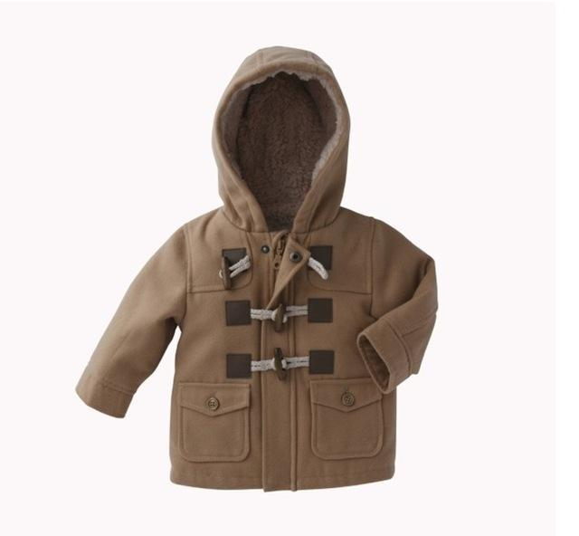 The Stylopedia Baby Clothing Brown / 12M Baby Classic Coat