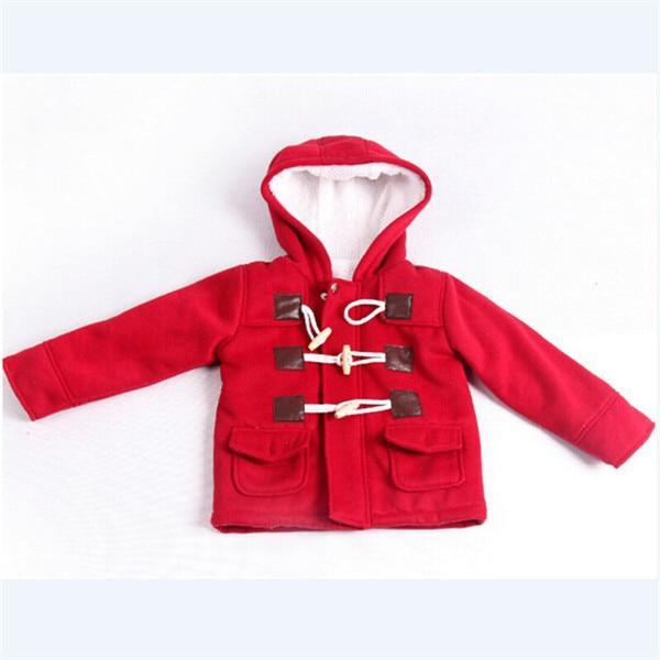 The Stylopedia Baby Clothing Red / 12M Baby Classic Coat