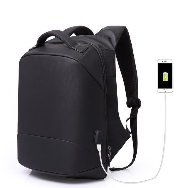 The Stylopedia bags Black Anti theft Backpack