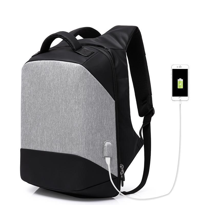 The Stylopedia bags Gray Anti theft Backpack