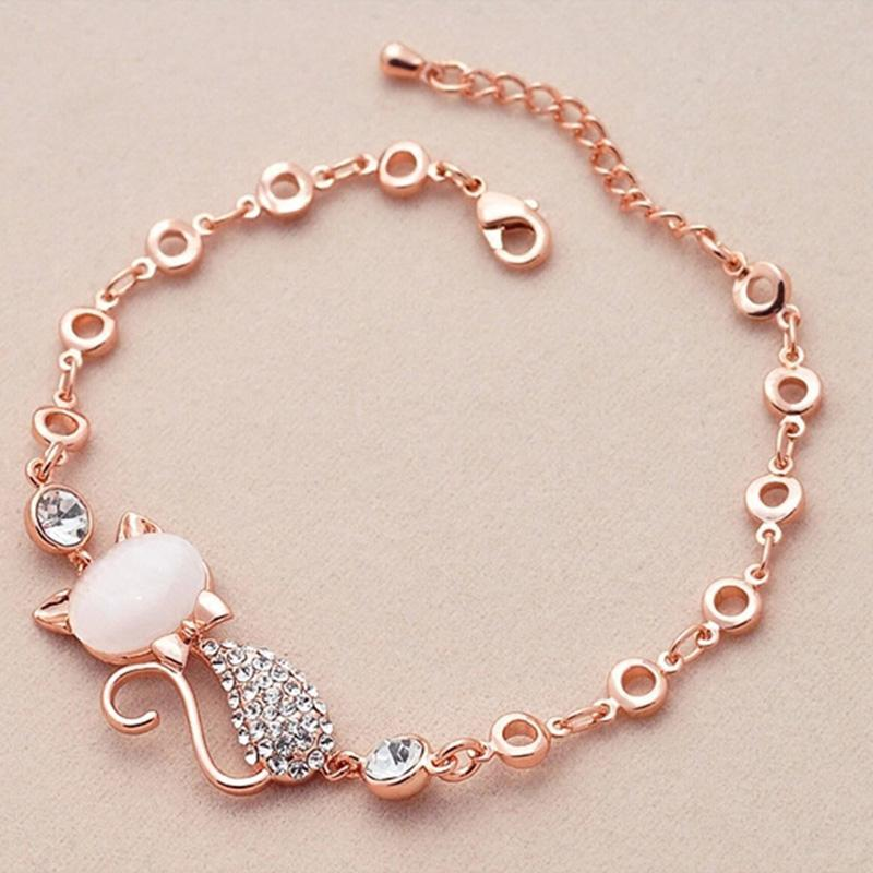 DIY Cute Cat Charm Bracelet