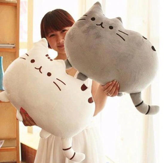 The Stylopedia Cat Toys Cute Cat Pillow Plush : 50% Off Today!!!
