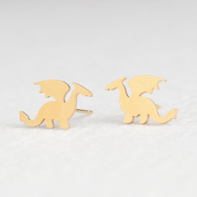 The Stylopedia earrings Dragon Cute style™ Earrings