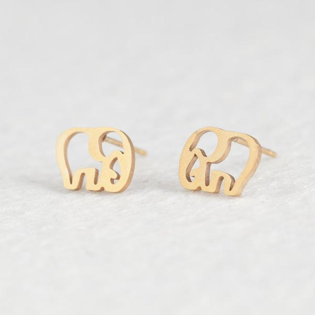 The Stylopedia earrings Elephant Cute style™ Earrings