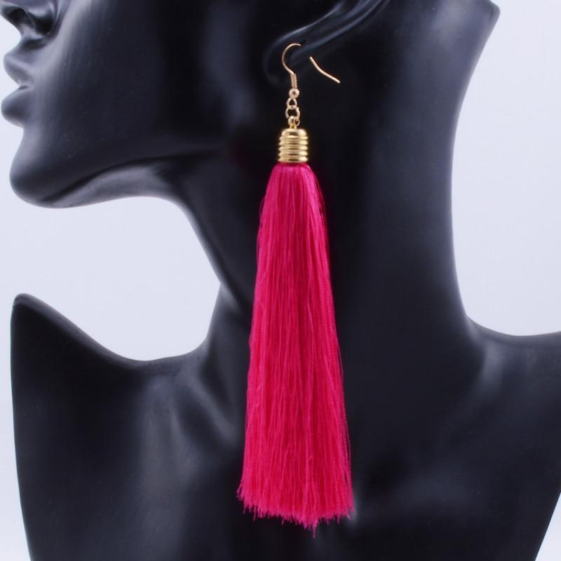 The Stylopedia earrings Vintage Tassel Earrings