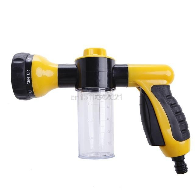 The Stylopedia Home Equipment Yellow 8 in 1 Jet Spray Gun : 50% Off Today!!!