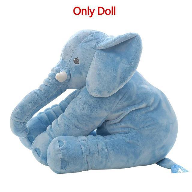 The Stylopedia Kids Blue(Dual-use) S LARGE ELEPHANT PLUSH