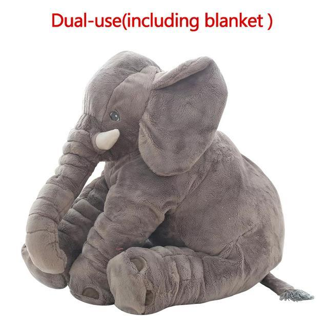 The Stylopedia Kids Gray doll LARGE ELEPHANT PLUSH