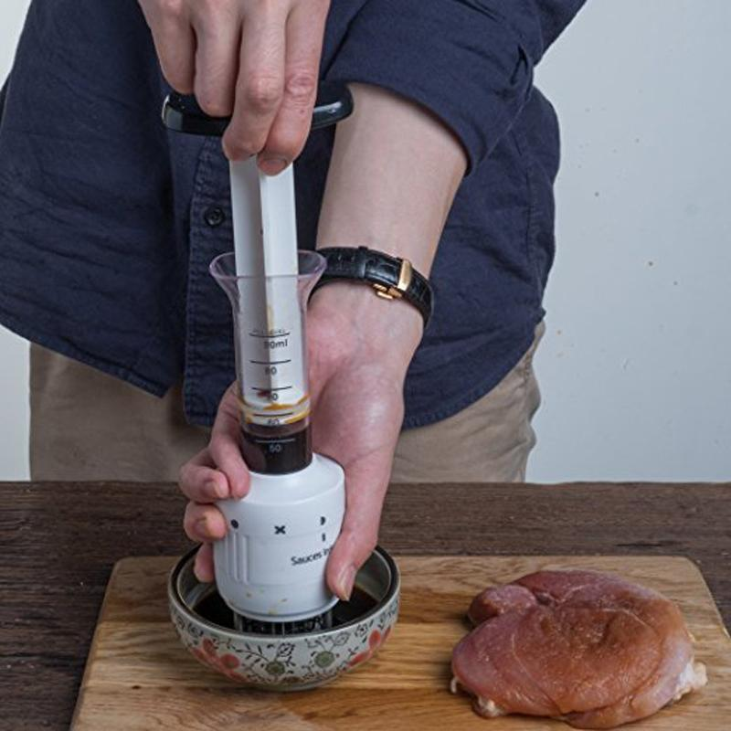 The Stylopedia Kitchen Equipments ALL-AROUND MEAT TENDERIZER & SAUCE INJECTOR