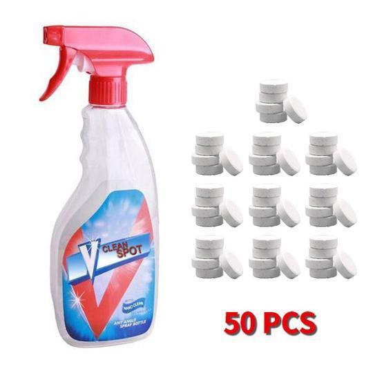The Stylopedia Kitchen Equipments Bottle + 50pcs Magical Spray Cleaner : 50% Off For Today!!!