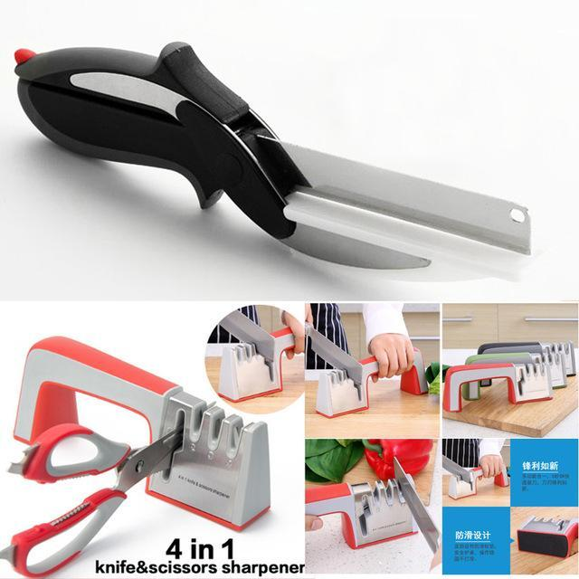 The Stylopedia Kitchen Equipments with Sharpener TSP™ WONDER CHOPPER