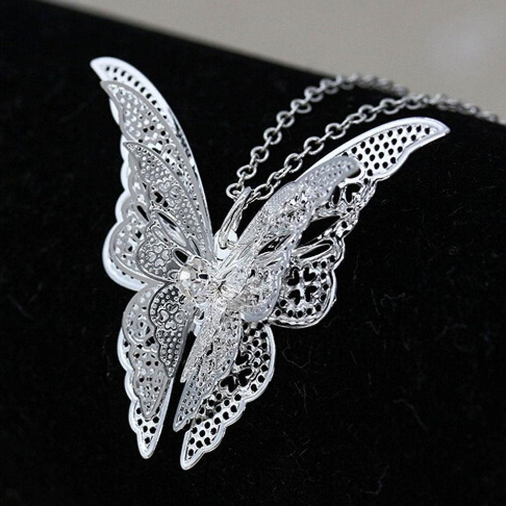 The Stylopedia necklace Butterfly Pendant Necklace