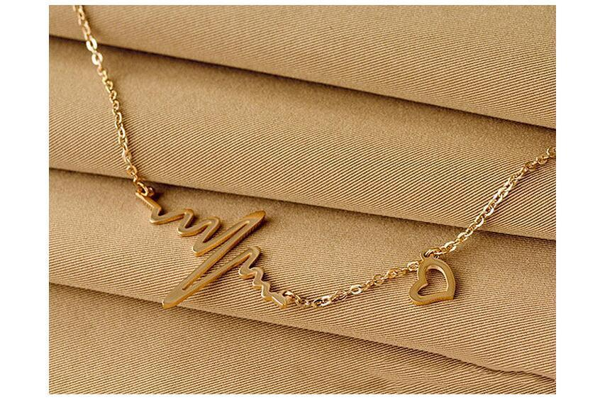 The Stylopedia necklace Cute Heartbeat™ Pendant Necklace