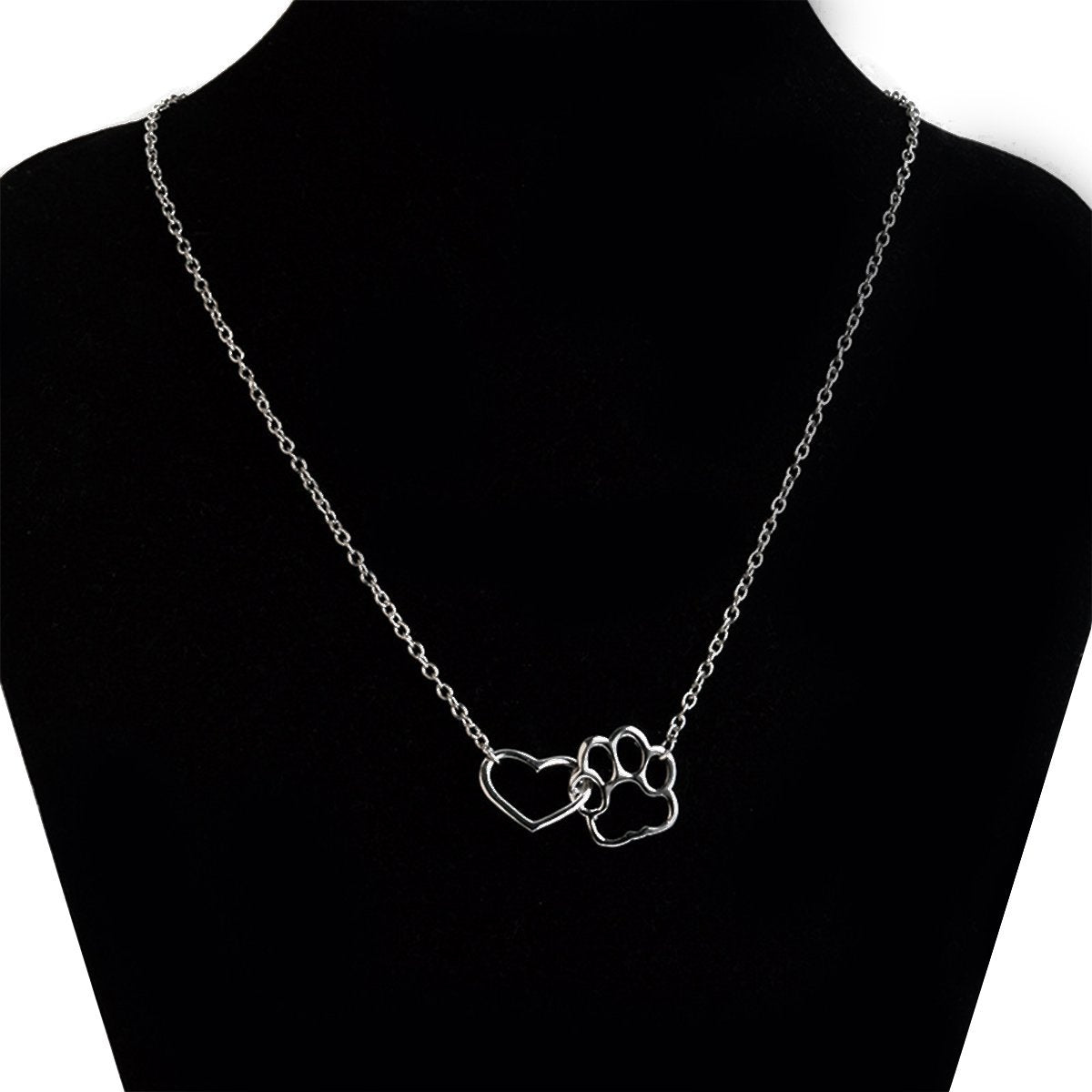 The Stylopedia necklace Pet Paw Love Necklace
