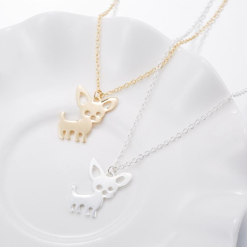 The Stylopedia necklace Super Cute Chihuahua Pendant Necklace