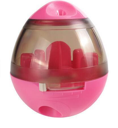 The Stylopedia pet care Pink Slow Feeder Ball: Pet Bite Toy
