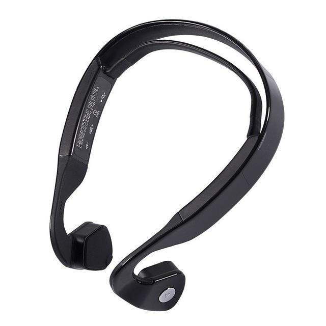 The Stylopedia phone Accessories Black Edal Bone Conduction Wireless HeadPhones