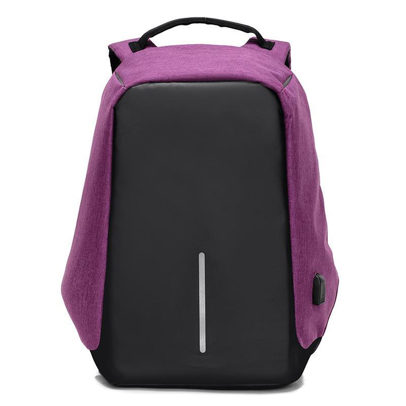The Stylopedia Phone Accessories Violet New Unisex anti-theft Backpack