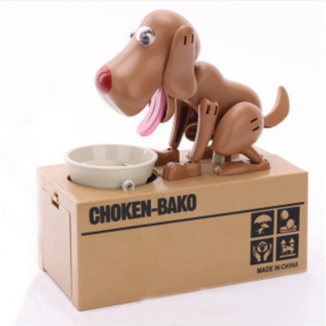 The Stylopedia Toys Brown TSP™ Doggy Automatic Money Box