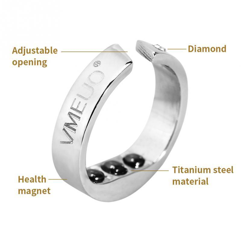 The Stylopedia Wellness Magnetic Acupressure Based Anti Snoring Ring : 50%Off Today!