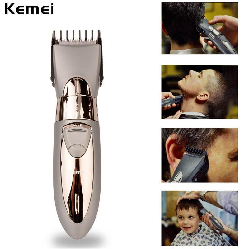Rechargeable Waterproof Hair Trimmer and Shaver