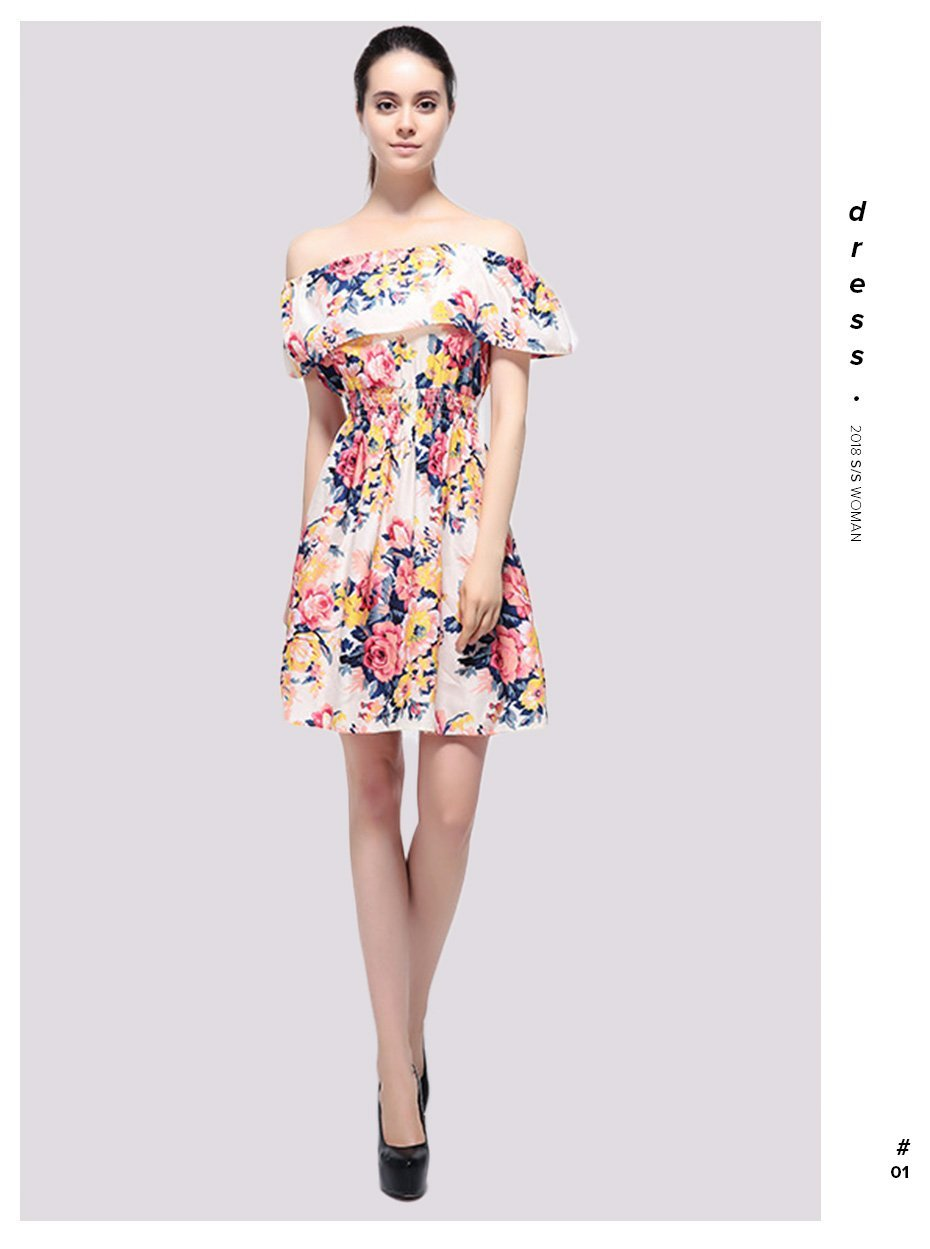 The Stylopedia Women Clothing Floral Print Party Dress