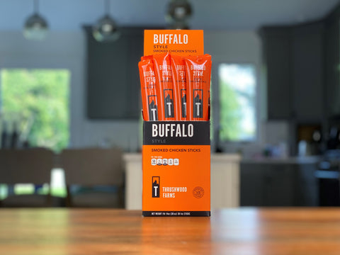 Buffalo Chicken Snack Sticks
