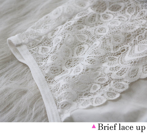 Seamless Embroidery Lace Sexy Bra Set