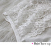Image of Seamless Embroidery Lace Sexy Bra Set