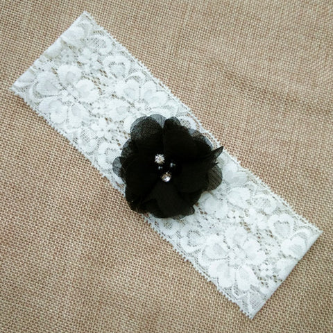 Chiffon Flower Wedding Garter