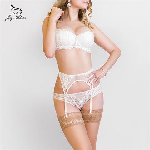 New Arrival Suspenders Lace Garter Set