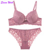 Image of Under The Care Of Lace Thick Cup Bra Set
