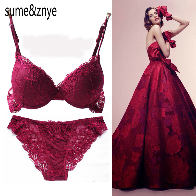 Comfortable Sexy charming Lace Bra Set
