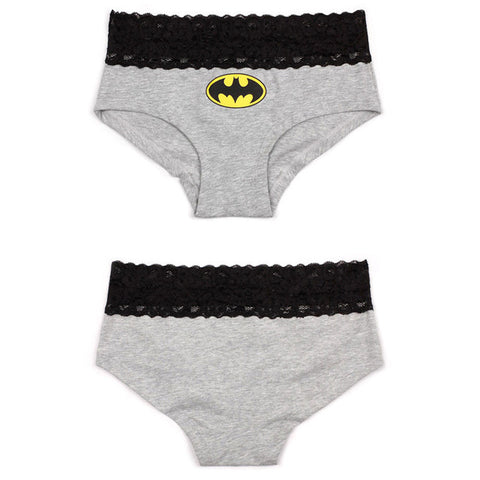 2 Styles Sexy Lace Batman Underwear
