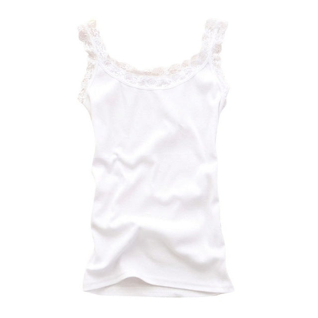Sleeveless U Neck Soft Casual Tank Tops