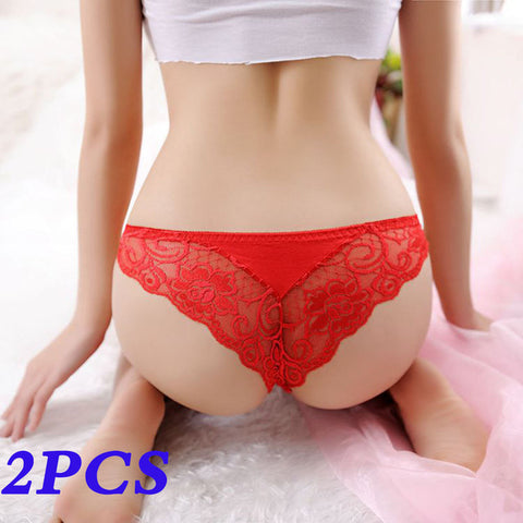 Low Waist Transparent Underwear