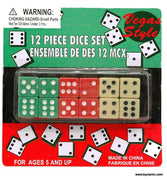 Dice - 12 Piece Dice Set
